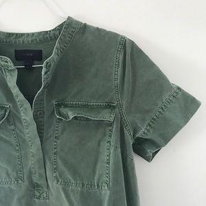 J. Crew Dresses - J. CREW: cotton shirt dress